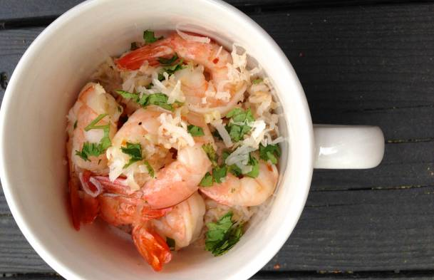 Honey Lime Shrimp with Coconut Rice