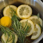 Rosemary Lemon Vanilla Home Scent
