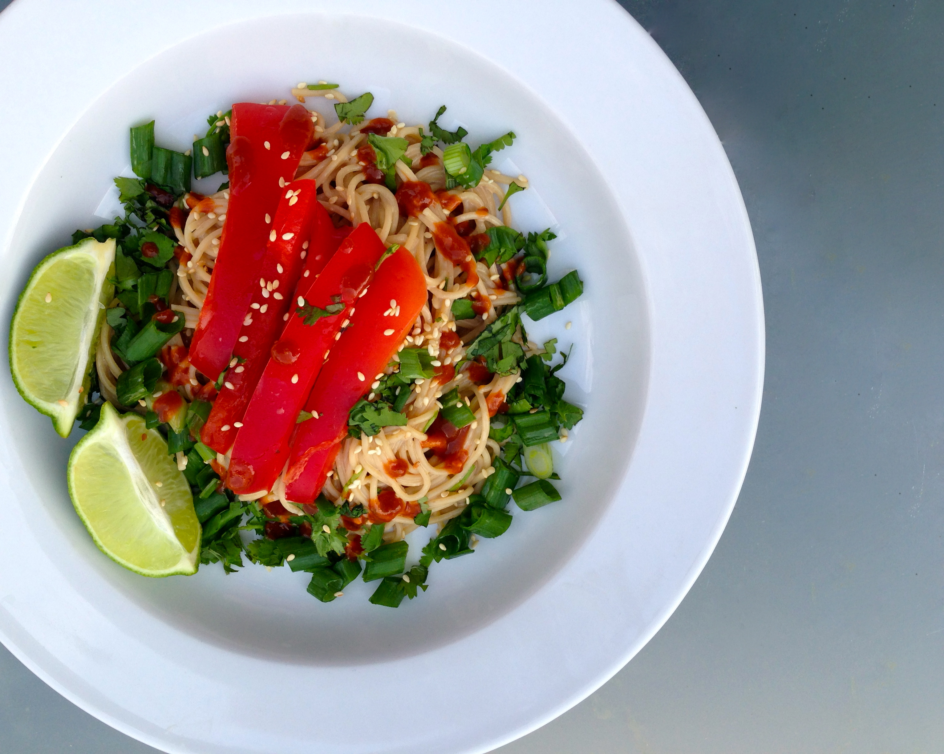 Peanut Sesame Noodles - Our Everyday Dinners | Our Everyday Dinners