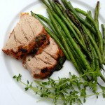 Herb Butter Grilled Pork Tenderloin