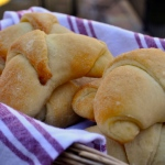 Bread Machine Crescent Rolls