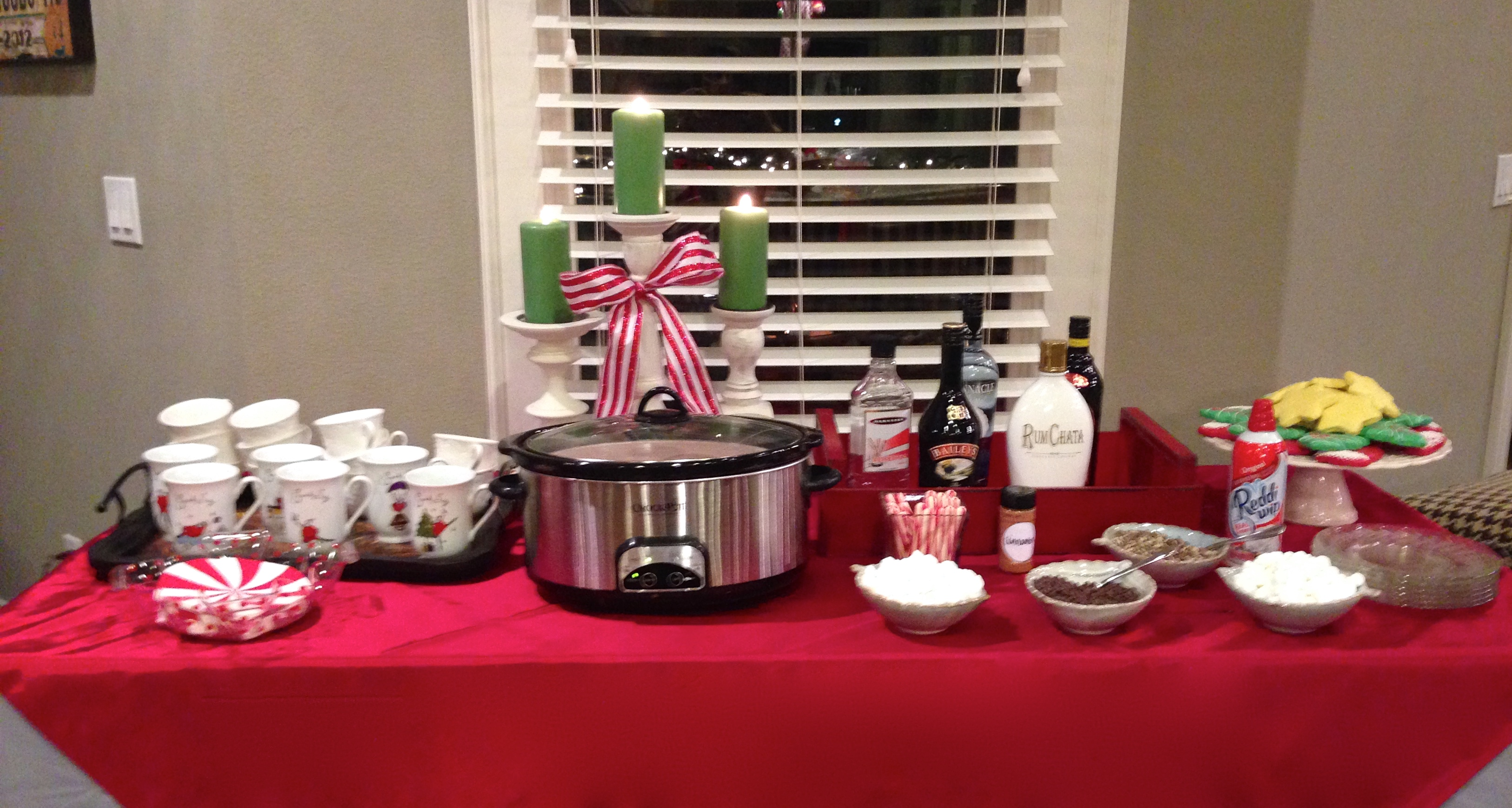 Easy How to Set Up a Hot Chocolate Bar