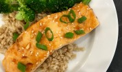 Honey Sriracha Salmon