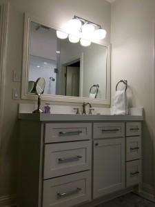 Master bath vanity/complete