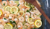 Lemon Butter Shrimp